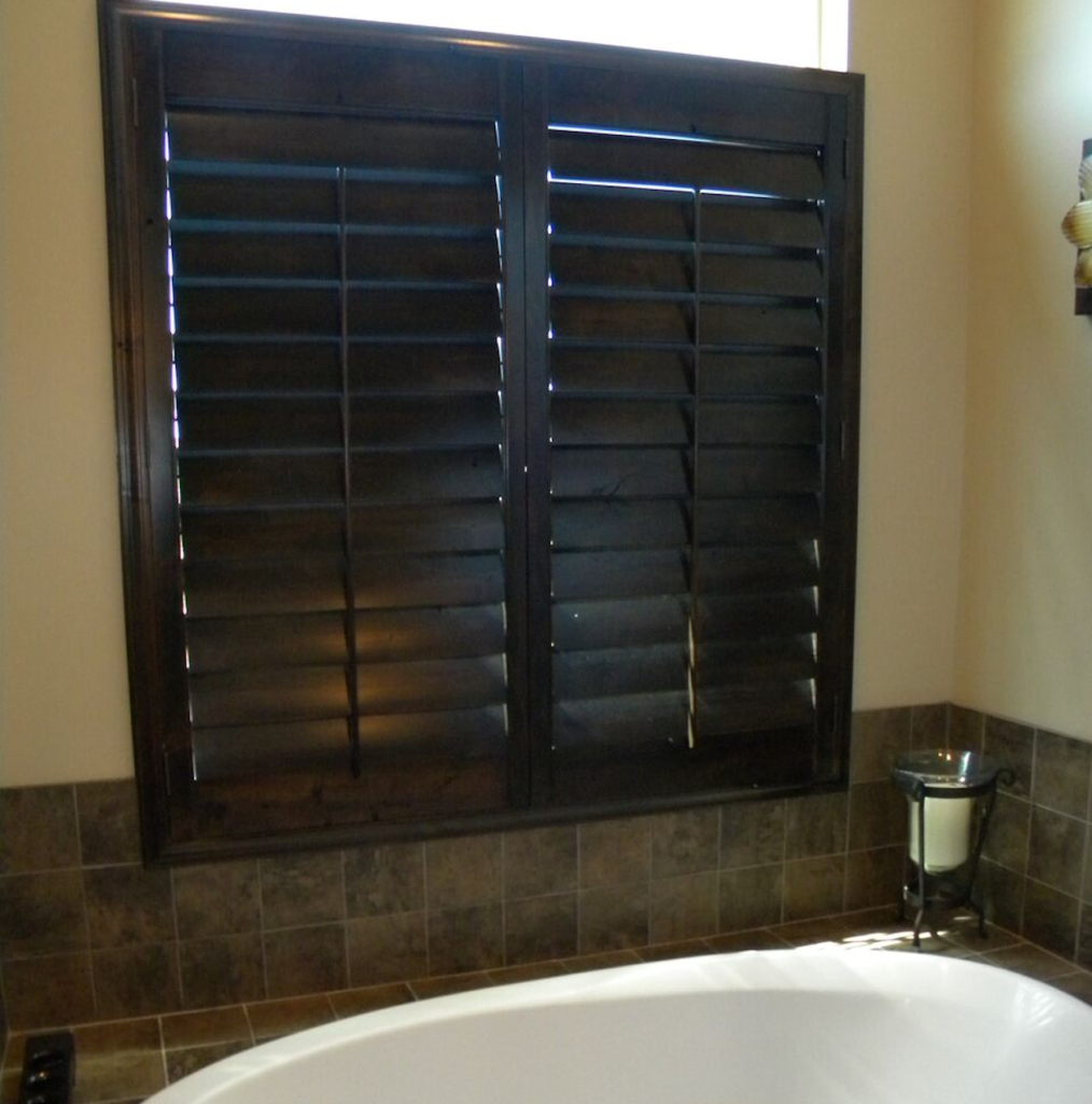 Mill Creek Shutters Custom Transom
