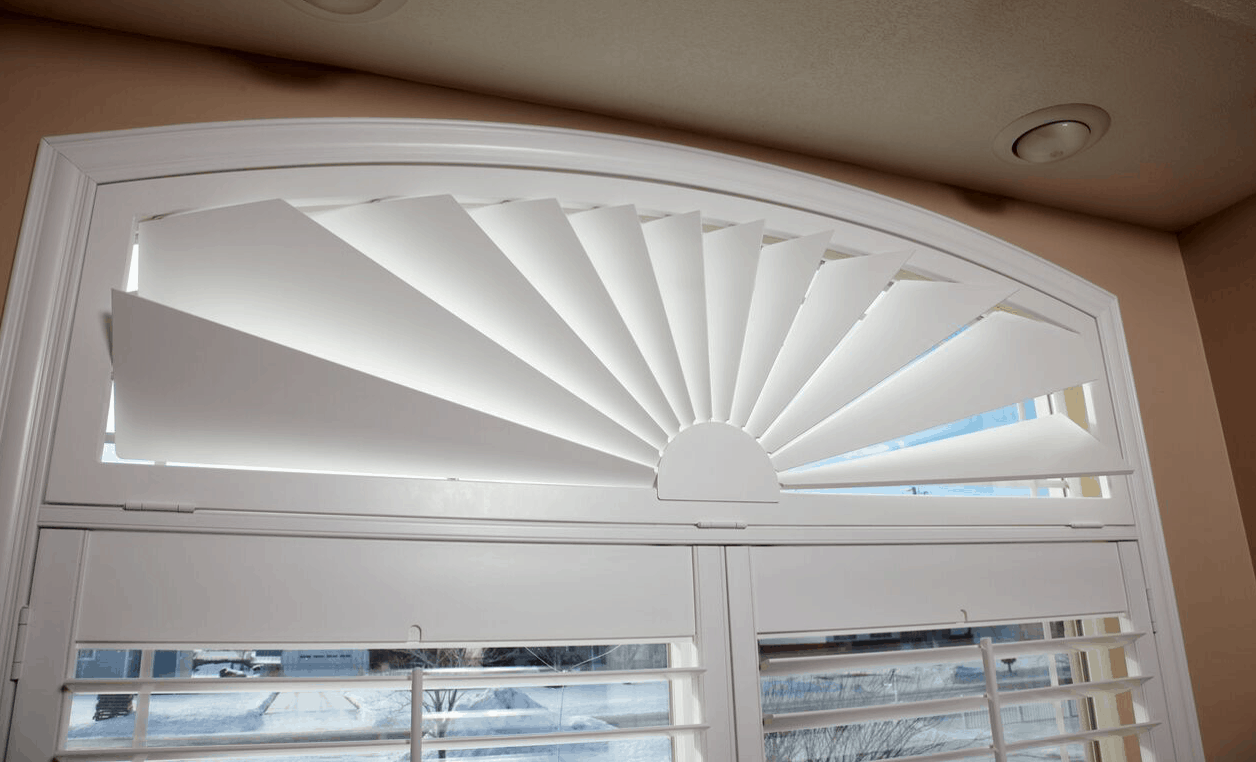 Mill Creek Shutters Custom Transom Fan