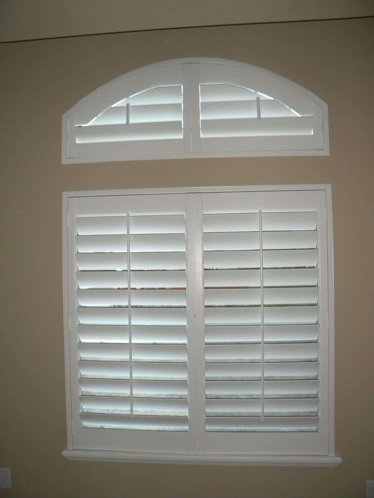 Mill Creek Shutters Custom Transom Arch
