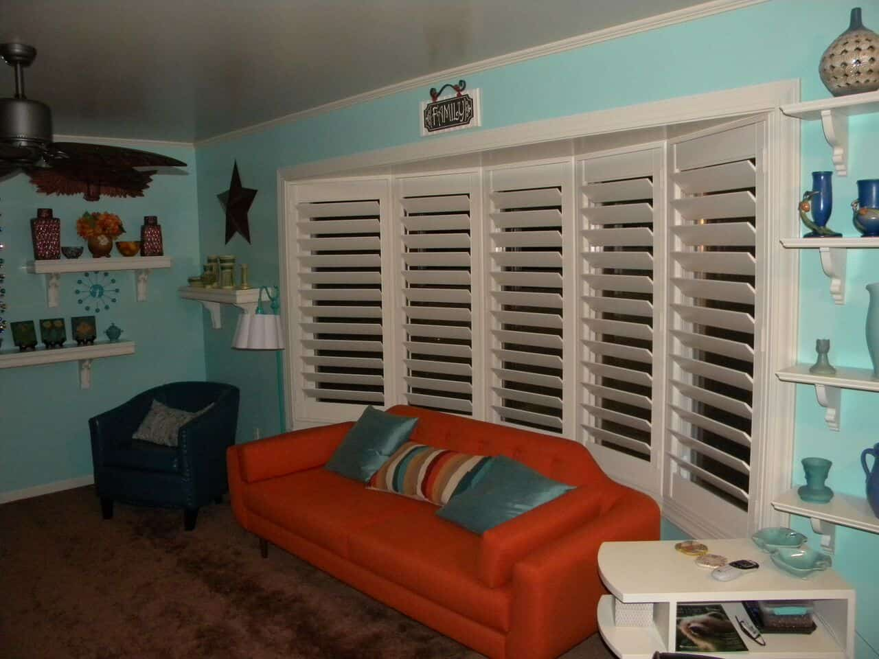 Mill Creek Shutters Custom Bay Window