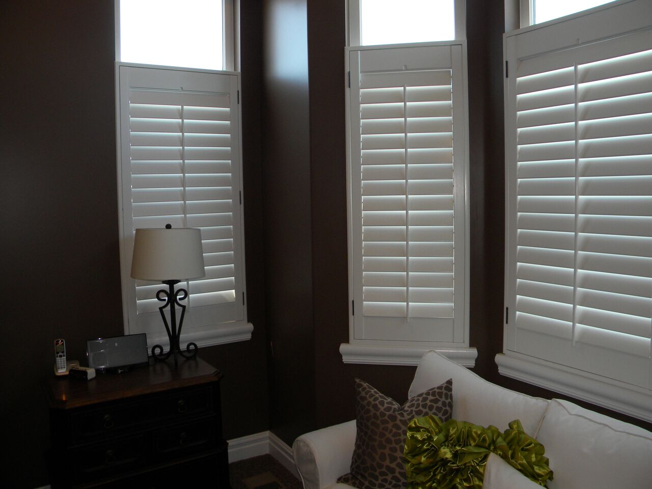Mill Creek Shutters Open Transom Shutters