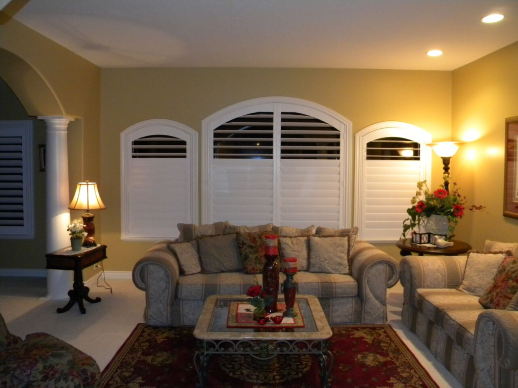 Mill Creek Shutters Custom Arch Windows