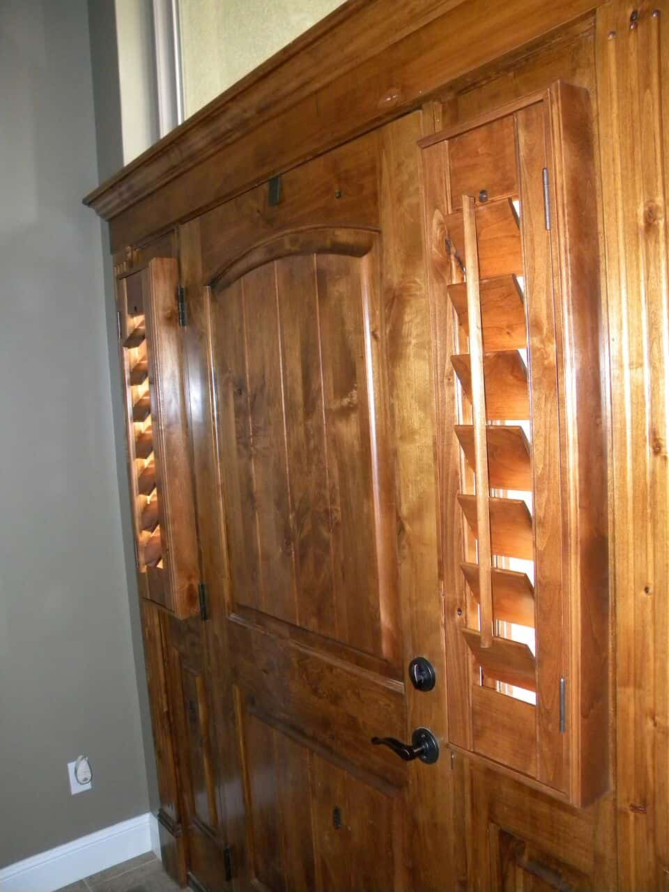 Mill Creek Shutters Custom Door