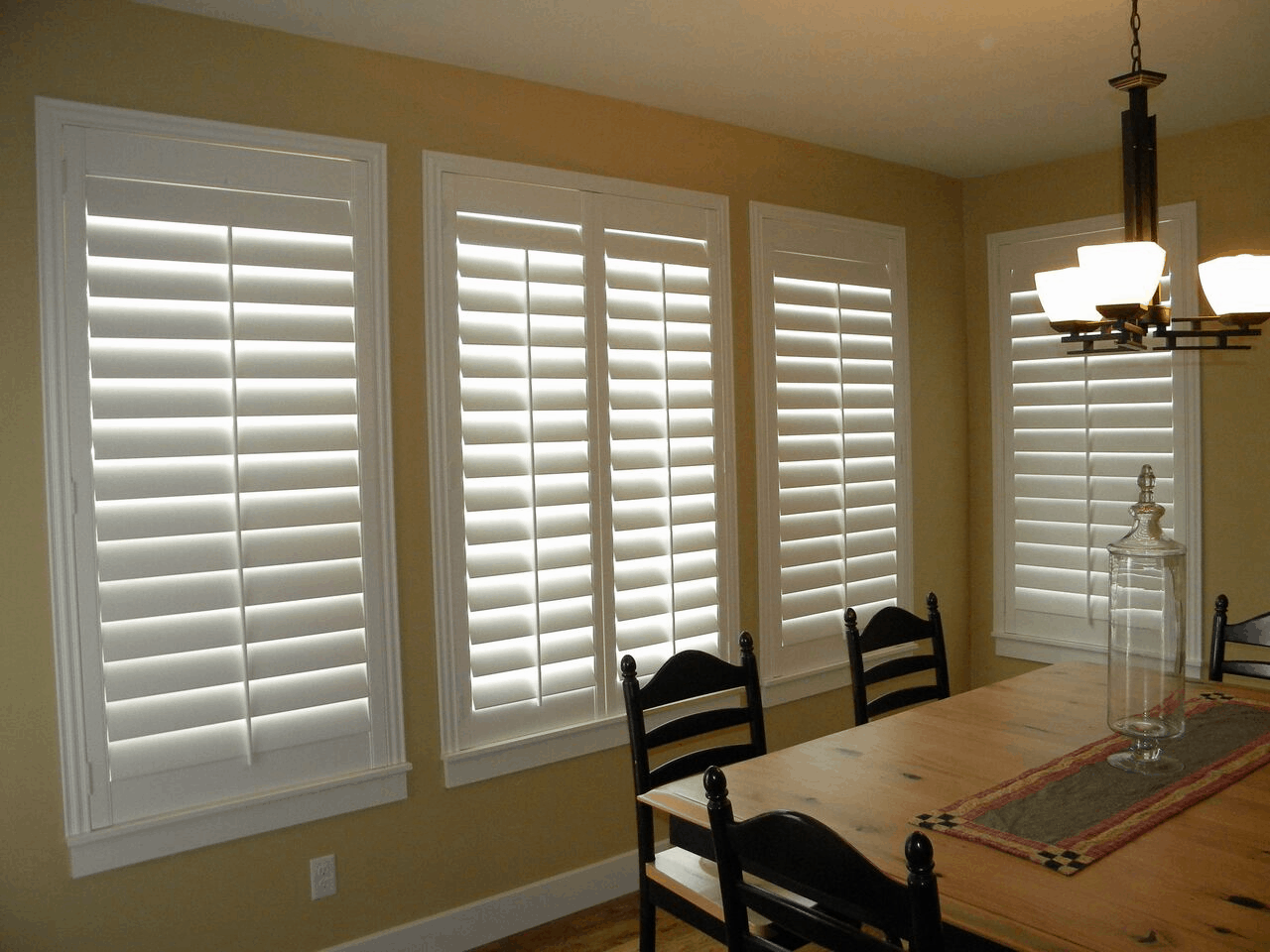 Mill Creek Shutters Custom Hinging