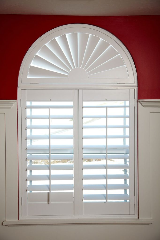 Mill Creek Shutters Custom Arch