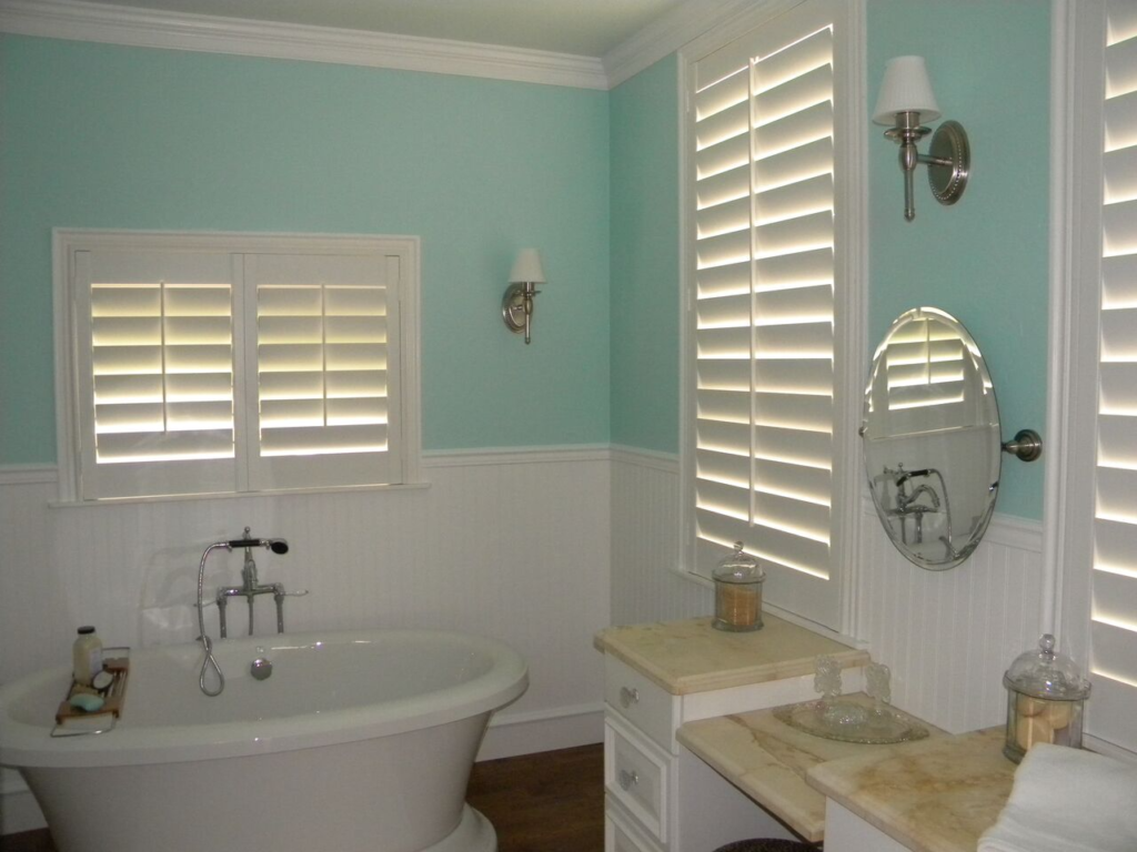 Mill Creek Shutters Custom Bathroom Windows