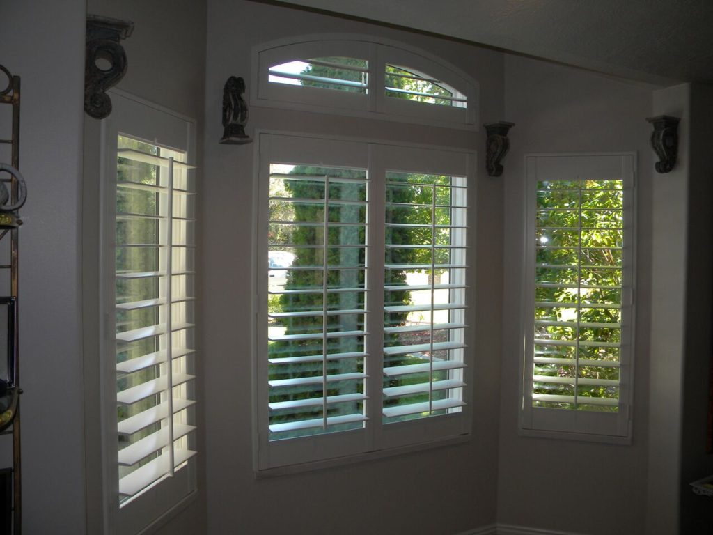 Mill Creek Shutters Transom Arch