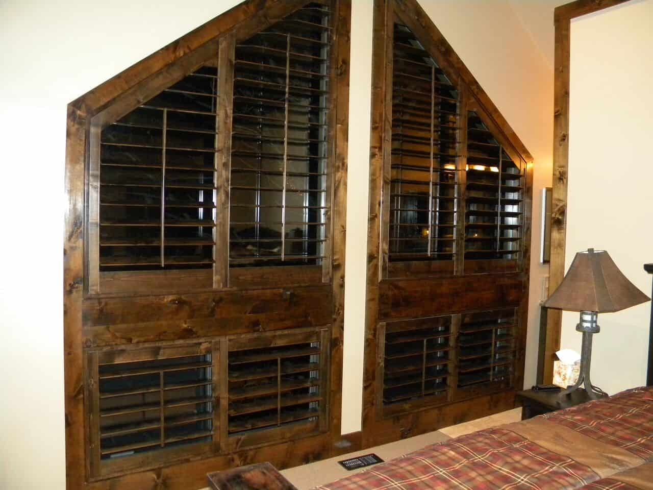 Mill Creek Shutters Full Wood Wall